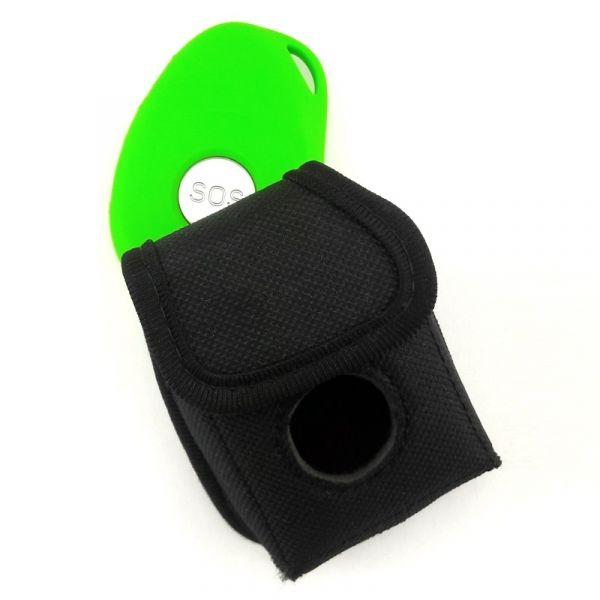 Deadman detektor z alarmem pozycji i torba z boku