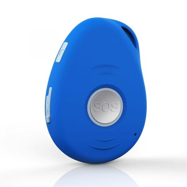 Detektor upadku niebieski